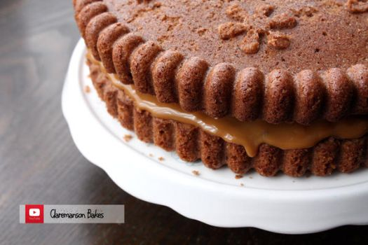 Giant Chocolate And Caramel Cookie Cake (+Recipe) by claremanson