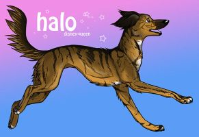 Halo Running by carrie-warwick