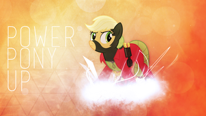 Wallpaper - Power Pony Up by RDbrony16