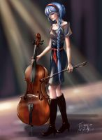Cello by buriedflowers