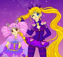 Halloween Duo by Sailor-Serenity