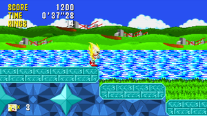 Sonic and Tails - MockUp 'Prismatic Prologue Zone' by MrLevRocks