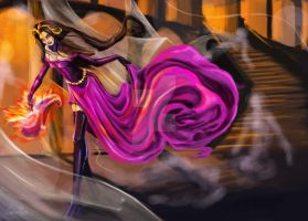 MTG - Liliana of the Veil by CarlosHReis