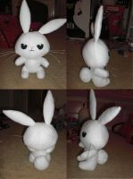 Angel Bunny Plushie by Bunnygirl2190