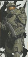 Halo 4 Master Chief by dragonlover030393