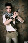 Nathan Drake (Uncharted) @ Con-G 2012 - Preview 1 by alucardleashed