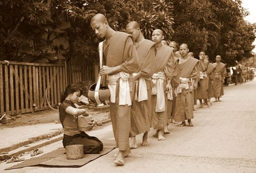 Morning ceremony in sepia by Suppi-lu-liuma