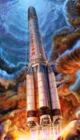 Proton-M by TolyanMy