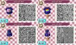 Animal Crossing: New Leaf QR Code - Nyan Cat by MysteryMoonbeam