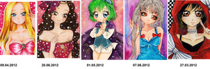 A6 beauties of 2012 by nanako87