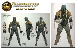 PK Concept Art - Dropshock 1 by AenTheArtist