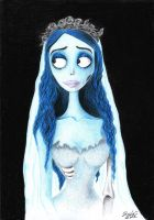 Emily ..the corpse bride by lilacluna