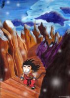 invierno dragonball by salvamakoto