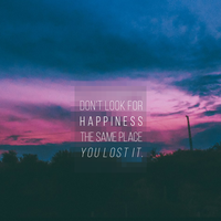 Look For Happiness by saadhsnain