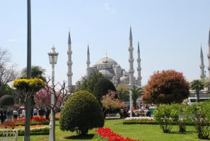 Blue Mosque Park by r3code