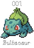 Bulbasaur Cross Stitch by alcnaurewen