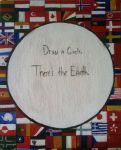 Draw a Circle, There's the Earth. by BlueFlamesOfSatan