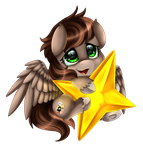 Comm: Little Star by pridark