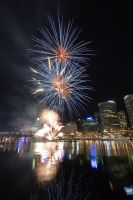 Fireworks at Darling Harbour 1 by deviantjohnny99
