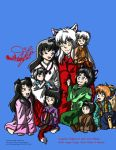 Inuyasha's Family by WildLittleTiggy