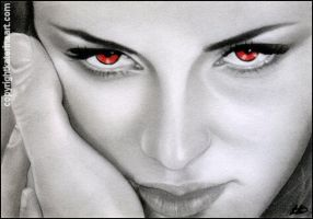 Bella's Eyes- Breaking Dawn 2 by Katerina-Art