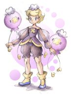 Gijinka Drifloon by dragonfly-world