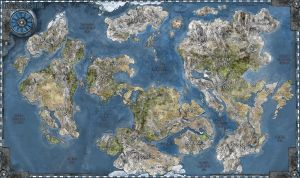 Iron Grip World Map by Iron-Grip
