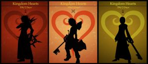 Kingdom Hearts 358/2 Days  Trio - Axel-Roxas-Xion by Mysitc-Mage