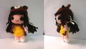 Bear hat girl by Katerie