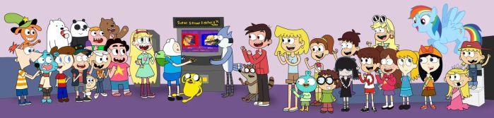 Cartoons and Arcades 'R Us by 04StartyCornOnline88