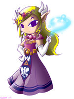 Princess Zelda by NeonCelestia20