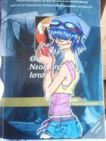 Noodle On Textbook by Manganizer