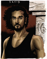 """Sayid of """"LOST"""" by PlanetKojo"""