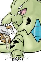 Tyranitar used Bulldoze by Grunlayer