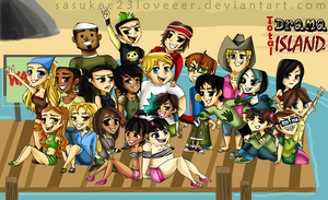 Total Drama Island by sasukee23loveeer