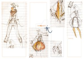 _knit and jeans_sketches by red-spot