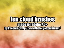 Photoshop Cloud Brushes by Red-Eclipse