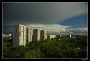 After Noon Storm by adamsik