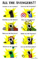 All the Avengers by BlueRose-16