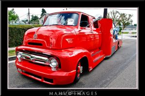 53 Ford COE by mahu54