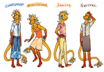 Fashion Color Wheel: HyssopFall by DimeSpin