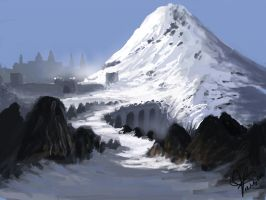 Mountain Castle by jjpeabody