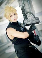 Cloud Strife, Advent Children Cosplay by hakucosplay