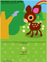 Deery-Lou CSS Journal by candysores