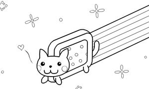 Nyan Cat template by KIxFE-4eva