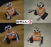 Wall-E Clay-Style by CrowMaiden