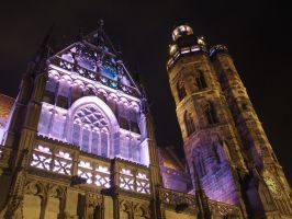 cathedral of Kosice by blackholediver