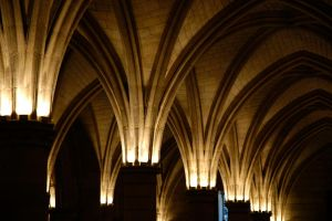 Medieval arches by Anantaphoto
