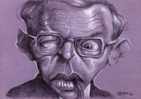Jean Paul Sartre by Parpa