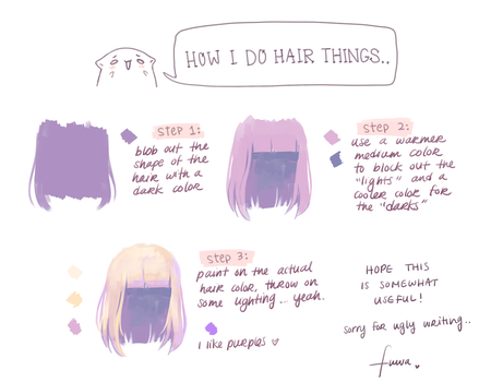 Short Hair Tutorial by fuwaffy